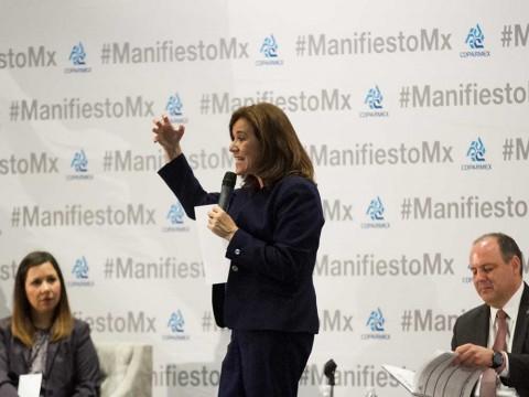 Margarita Zavala, Renuncia a candidatura presidencial, Elecciones 2018, Ricardo Anaya, Declina