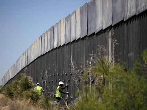'Buscaré pronto financiamiento completo para muro fronterizo': Trump (Foto: Reuters)