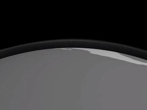 Esta es la primera imagen global de las nubes de hielo (Foto: Youtube)