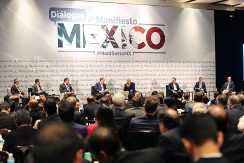 AMLO, Coparmex, Margarita Zavala, Felipe Calderón, Guerra, Deuda, Problema de conciencia, Votos, Elecciones, Presidencia, Renuncia a candidatura