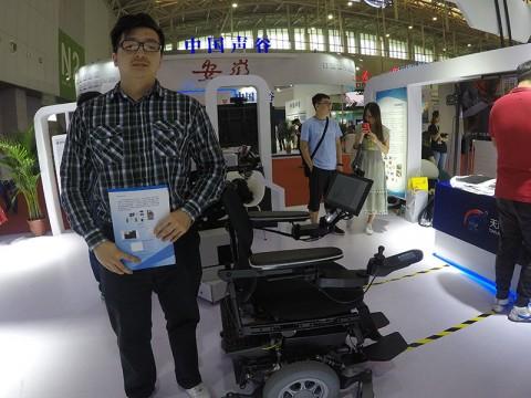 Dai Liu, ingeniero de la compañía Tianjin Intelligent Tech. Institute of Casia (Foto: Olimpia Ávila)
