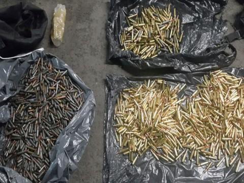 En Jalisco, militares aseguraron granadas de fragmentación, armas largas, cartuchos y camionetas