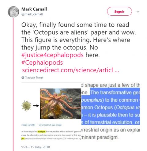 Mark Carnall criticó a los autores del estudio.