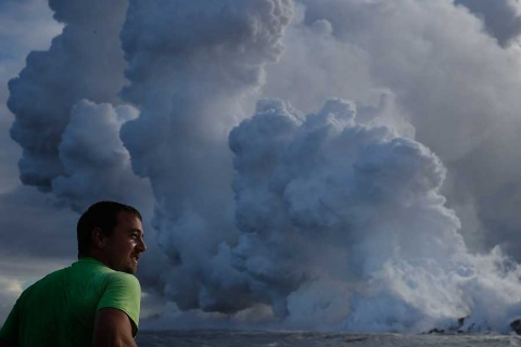 Así es la nube tóxica que tiene a Hawai en problemas por el Kilauea