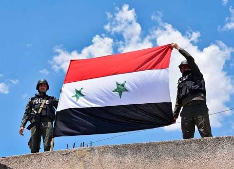 Siria canta victoria sobre el Estado Islámico en Damasco