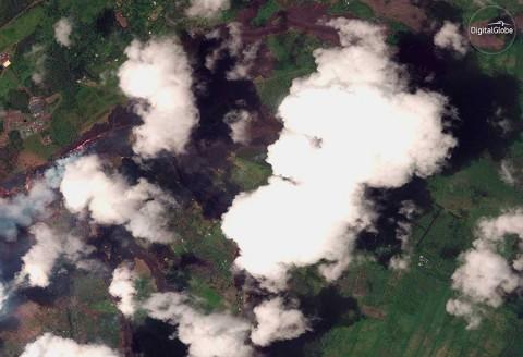La lava del Kilauea ahora amenaza una planta geotérmica