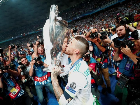 sergio ramos, real madrid, uefa, champions league