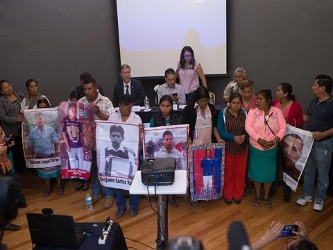 Activistas mexicanos denuncian 56 desapariciones forzadas