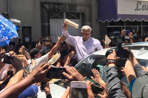 López Obrador pide transición tersa. Foto: Arturo Páramo/ Enviado