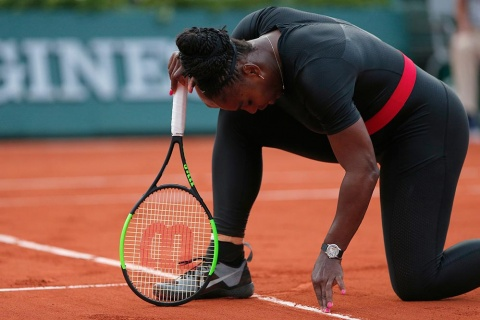 Serena Williams abandona Roland Garros