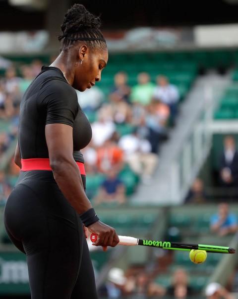 Serena Williams abandona Roland Garros lesion