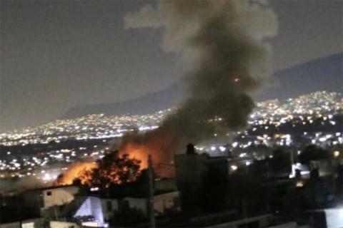 Se registra explosión en Tultepec; aún sin número definido de víctimas