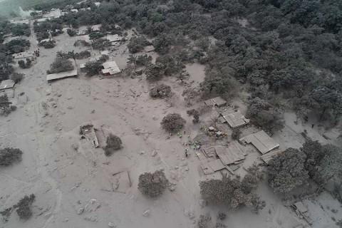 Así quedaron las ciudades devastadas por el Volcán de Fuego [FOTOS — Guatemala