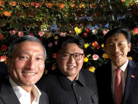 Kim Jong Un sale a pasear antes de cumbre con Trump
