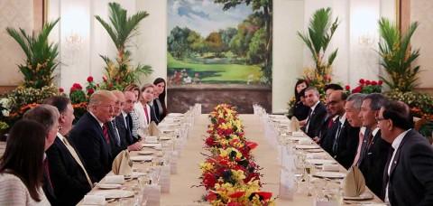 'Hay entusiasmo en el aire', dice Trump previo a cumbre con Kim