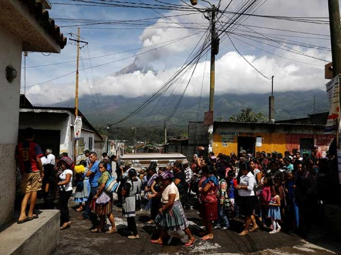 La explosión del volcán de Fuego del pasado 3 de junio deja ya más de 114 muertos (Foto: Reuters)