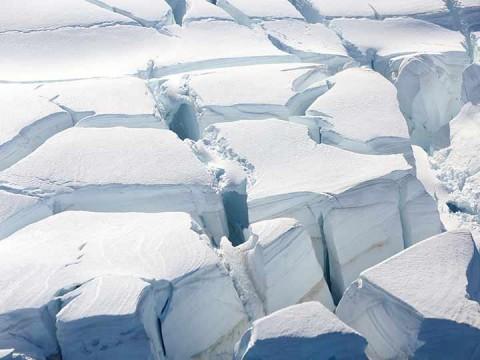 La Antártida por si sola podría sumar 16 centímetros a la elevación del nivel del mar para fines de siglo (Foto: Reuters)