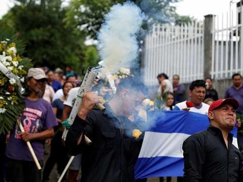 Al igual que en los casos anteriores, la mayoría de muertos en Nicaragua fueron víctimas de disparos certeros en la cabeza (Foto: Reuters)