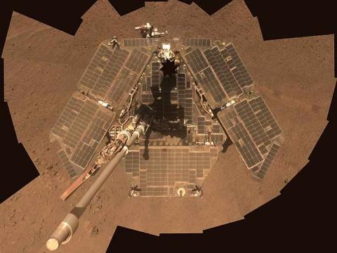 La NASA lanzó las sondas gemelas Opportunity y Spirit en 2003 para estudiar las rocas y el suelo de Marte (Foto: Reuters)