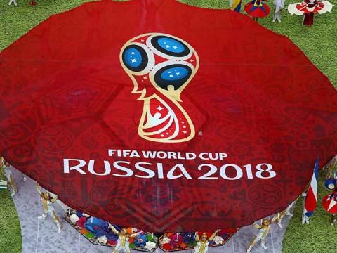 El estadio Luzhnikí, un estadio con capacidad para 81 milespectadores, vistió sus mejores galas para abrir un torneo (Foto: Reuters)