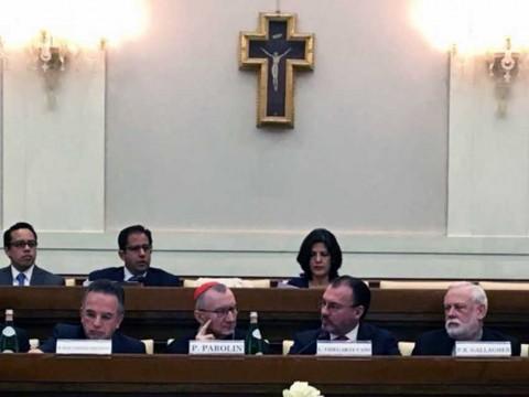 Videgaray, SRE, Vaticano, Migrantes, Inmigración, Donald Trump, Derechos humanos, Estados, Seguridad, Estados Unidos, Economía