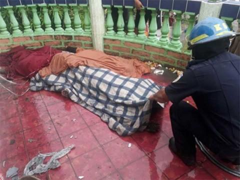 Muere familia por incendio en Nicaragua; culpan a fuerzas del gobierno