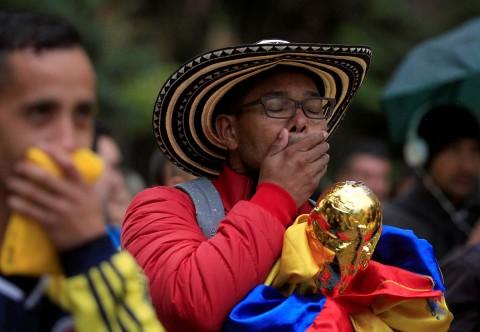 Drama en Colombia por la derrota ante Japón