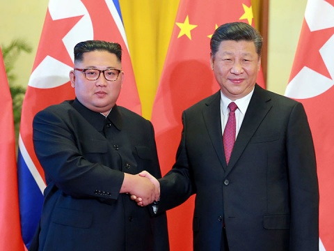 La visita de dos día de Kim a Pekín finalizará más tarde el miércoles, según medios estatales de ambos países (Foto: Reuters)