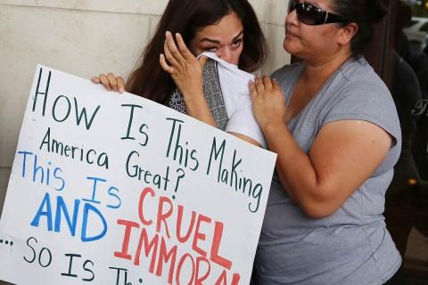 UNAM exige suspensión inmediata de políticas de Trump contra niños migrantes. Foto: Reuters
