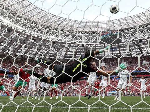 cristiano ronaldo, gol cristiano, selección portugal, selección marruecos, mundial rusia 2018