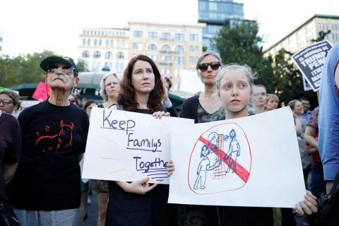 Anuncia Trump decreto para poner fin a separación de niños