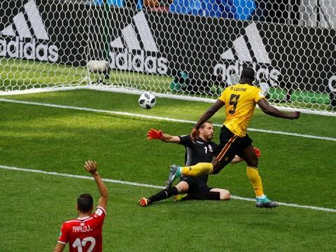 bélgica golea a túnez, mundial rusia 2018, copa mundial fifa, world cup, eden hazard