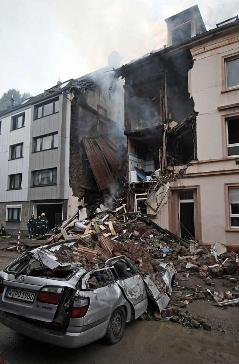 Explosión en Alemania deja al menos 25 heridos