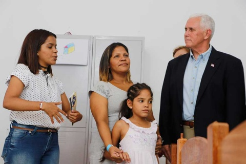 Régimen de Maduro, una dictadura brutal: Pence