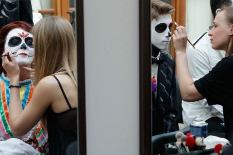 Personajes típicos de la festividad recorrerán las calles rusas con música y bailes. Foto: Reuters