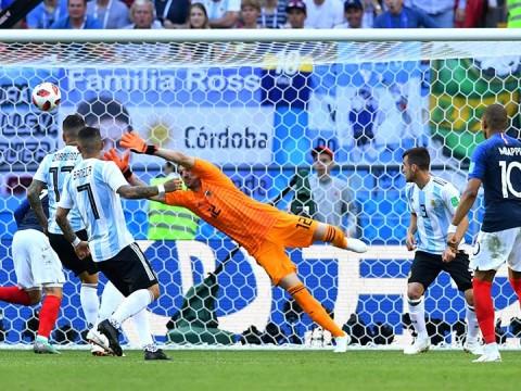 francia vs argentina, francia elimina a argentina, kylian mbappé, lionel messi, mundial 2018