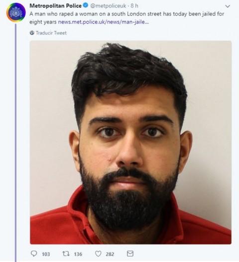 Condenan a violador a 8 años de cárcel [Internacional]