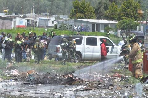 Las autoridades consideran que la mayoría de los accidentes que se han registrado han sido provocados por el mal manejo de la pólvora. Foto: Cuartoscuro