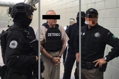 Dámaso López Núñez fue extraditado este viernes a EU desde México. Foto: Cuartoscuro