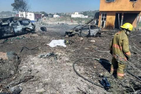 Autoridades capacitarán a artesanos pirotécnicos y cuerpos de emergencia para evitar que se repita otra tragedia. Foto: Cuartoscuro