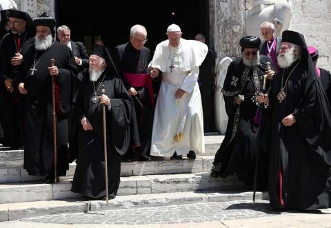 El Papa advierte de extinción de cristianos en Oriente Medio
