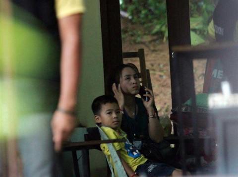 Evacuan a 8 niños atrapados en una cueva inundada en Tailandia