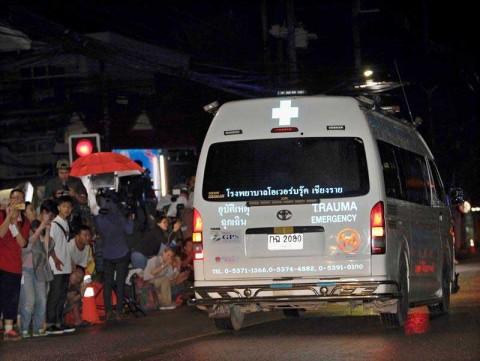 Ya son 11 los niños liberados de la cueva de Tailandia