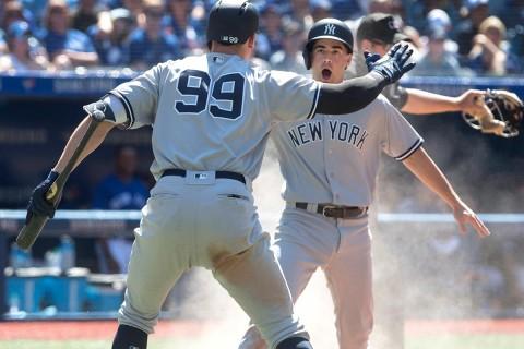 Grandes Ligas, Yanquis, Azulejos, Beisbol,