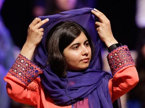 Malala: 'El voto consciente es lo más poderoso para cambiar un país' (Foto: AP)