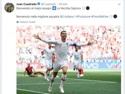 Real Madrid, Cristiano, Cuadrado, Juventus,