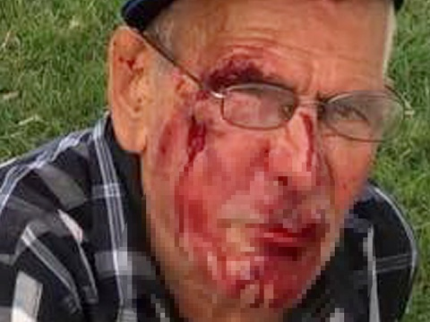USA: La mujer que atacó a un anciano en LA fue arrestada