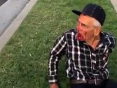 Arrestan a mujer que golpeó brutalmente a anciano en EU (Foto: Archivo)