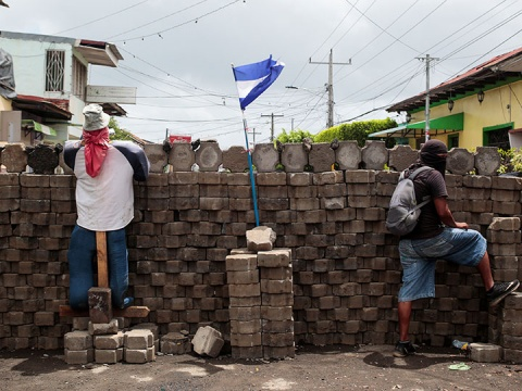 CIDH condena la represión contra manifestantes en Nicaragua (Foto: Reuters)