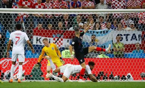 Gol Perisic empató el marcador Croacia final